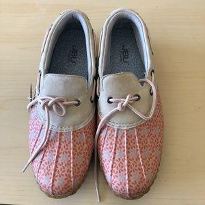 NWT JBU Duck Shoes Gwen Garden Ready SZ 9.5M